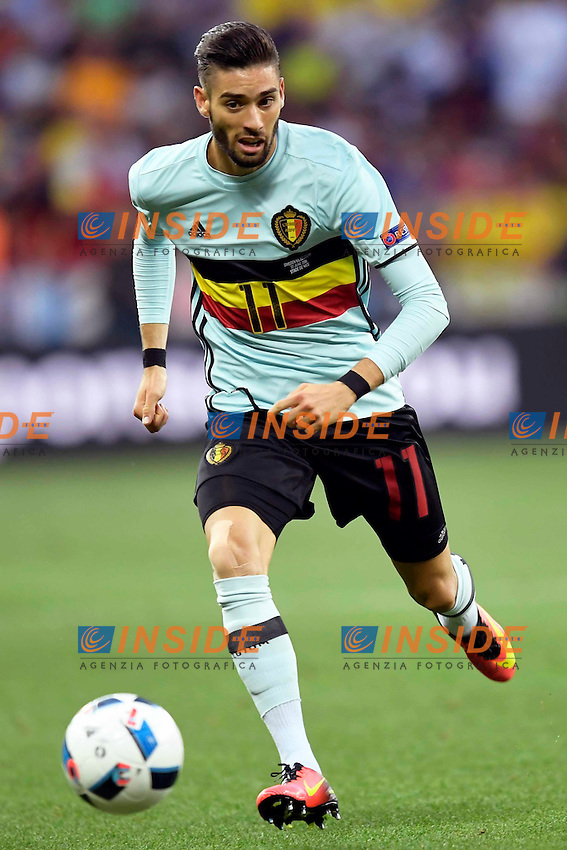Yannick Carrasco forward of Belgium <br /> Toulouse 26-06-2016 Stade de Toulouse Football Euro2016 Hungary - Belgium / Ungheria - Belgio Round of 16. Foto Jimmy Bolcina / Panoramic / Insidefoto