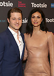 "Ben McKenzie and Morena Baccarin attends the Broadway Opening Night of ""Tootsie"" at The Marquis Theatre on April 22, 2019  in New York City."