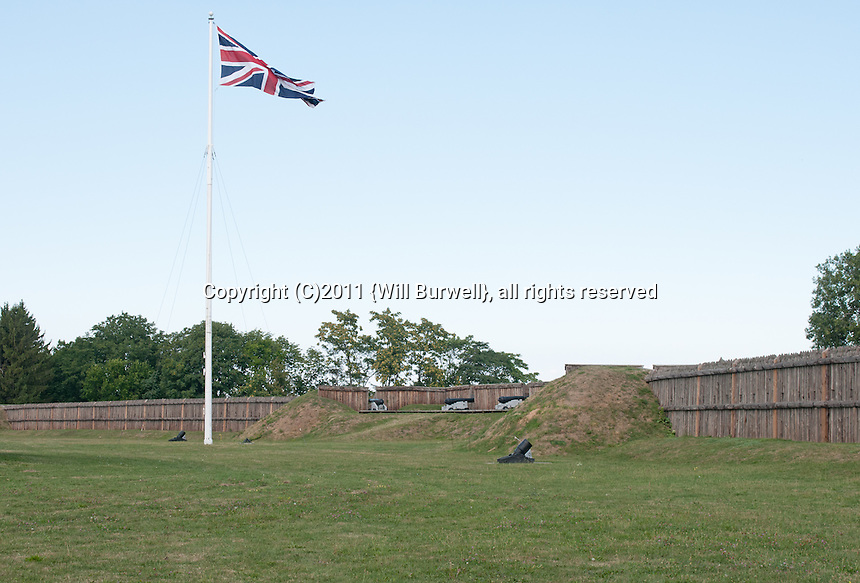 Flag Bastion, Fort George, Niagara-on-the-Lake