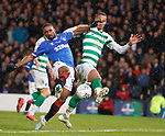 08.11.2019 League Cup Final, Rangers v Celtic: Jermain Defoe and Christopher Jullien