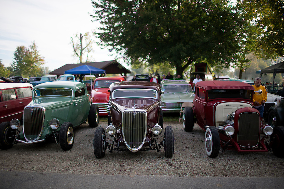 Ducktail Run Rod & Custom Show – Gas City, Ind., Saturday, Sept. 29, 2014. (Photo by James Brosher)