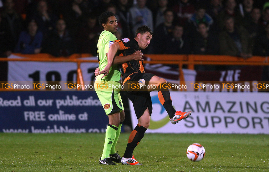 - Barnet vs Northampton Town, nPower League 2 at Underhill Stadium, Barnet - 19/10/12 - MANDATORY CREDIT: Rob Newell/TGSPHOTO - Self billing applies where appropriate - 0845 094 6026 - contact@tgsphoto.co.uk - NO UNPAID USE.