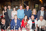 Davina Lenihan, from Knocknagoshel celebrating her 30th birthday with family and friends on Saturday night at Finnegans. Front l-r  Eileen Lenihan, Ann Elvis, Davina Lenihan, Mark Lenihan and John Mc Mullen. Back l-r  Sharmaine McMullen, Christopher Lehane Carr, Sharleen McMullen, Patsy Lenihan, Jerry Cremins, Niall Cremins and Tony McMullen