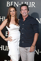 "HOLLYWOOD, CA - AUGUST 16: Lisa Ann Russell, Jeff Probst at the LA Premiere of the Paramount Pictures and Metro-Goldwyn-Mayer Pictures title ""Ben-Hur"", at the TCL Chinese Theatre IMAX on August 16, 2016 in Hollywood, California. Credit: David Edwards/MediaPunch"