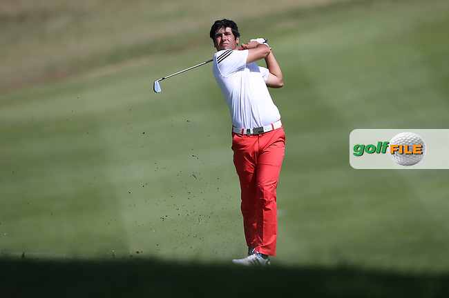Adrian Otaegui (ESP)  plays up the hill on the first during Round One of the Africa Open 2015 at the East London Golf Club, East London, Eastern Cape, South Africa. Picture:  David Lloyd / www.golffile.ie. 05/03/2015