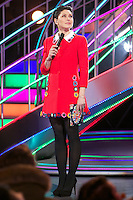 www.acepixs.com<br /> <br /> January 27 2017, Borehamwood<br /> <br /> TV presenter Emma Willis oversees evictions from the Celebrity Big Brother house at Elstree Studios on January 27, 2017 in Borehamwood, England. <br /> <br /> By Line: Famous/ACE Pictures<br /> <br /> <br /> ACE Pictures Inc<br /> Tel: 6467670430<br /> Email: info@acepixs.com<br /> www.acepixs.com