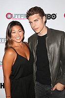 WEST HOLLYWOOD, CA - JULY 11: Jenna Ushkowitz and Nolan Funk at the 2017 Outfest LA LGBT Film Festival Screening Of Hello Again at The Director's Guild of America in West Hollywood, California on July 11, 2017. Credit: Faye Sadou/MediaPunch