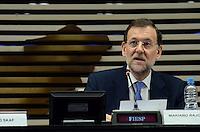 SAO PAULO, 21 DE JUNHO DE 2012 - SKAF ENCONTRA MARIANO RAJOY - Presidente da Fiesp Paulo Skaf encontra com o chefe de governo da Espanha Mariano Rajoy, na tarde desta quinta feira, na Fiesp, regiao central da capital. FOTO: ALEXANDRE MOREIRA - BRAZIL PHOTO PRESS