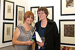 Joanne Nolan and Bernie Condon at the DIFE End of Year Exhibition in the D Hotel...Photo NEWSFILE/Jenny Matthews.(Photo credit should read Jenny Matthews/NEWSFILE)....This Picture has been sent you under the condtions enclosed by:.Newsfile Ltd..The Studio,.Millmount Abbey,.Drogheda,.Co Meath..Ireland..Tel: +353(0)41-9871240.Fax: +353(0)41-9871260.GSM: +353(0)86-2500958.email: pictures@newsfile.ie.www.newsfile.ie.FTP: 193.120.102.198.