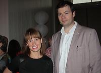 NWA Democrat-Gazette/CARIN SCHOPPMEYER Bianca Rucker and Eric Berger attend the Red Shoe Soiree.