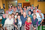 7346-7349.---------.Anniversary.-----------.John O'Sullivan(front centre)owner of the Munster Bar,Ballymullen,Tralee surrounded by his loyal clients celebrated his 23rd year behind the bar last friday night.