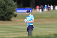 David Horsey (ENG) in a fairway bunker on the 16th hole during Saturday's Round 3 of the Porsche European Open 2018 held at Green Eagle Golf Courses, Hamburg Germany. 28th July 2018.<br /> Picture: Eoin Clarke | Golffile<br /> <br /> <br /> All photos usage must carry mandatory copyright credit (&copy; Golffile | Eoin Clarke)