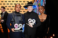Lewis Hamilton, Marius Müller-Westernhagen and Lindiwe Suttle at the 21st presentation of the GQ Men of the Year Awards 2019 at the Komische Oper. Berlin, November 7, .2019. Credit: Action Press/MediaPunch ***FOR USA ONLY***