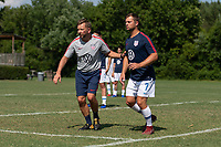 Rome, GA - Friday, June 21, 2019:  Stuart Sharp, Tyler Bennett during a Para 7 USMNT training session.