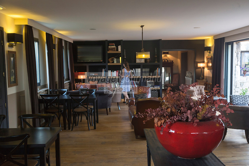 Europe/France/2A/Corse du Sud/Levie : Ferme-Auberge: A PIgnata, le salon