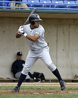 April 21, 2004:  Outfielder Melky Cabrera of the Battle Creek Yankees, Midwest League low-A affiliate of the New York Yankees, during a game at Memorial Stadium in Fort Wayne, IN.  Photo by:  Mike Janes/Four Seam Images