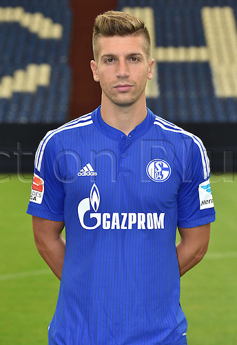 17.07.2015, Gelsenkirchen, Germany. Bundesliga season 2015-16 official squad portrait.  Matija Nastasic (FC Schalke 04)
