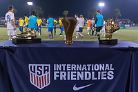 LAKEWOOD RANCH, FL - December 2, 2018: Portugal Under-17 Men's National Team. The 2018 Nike International Friendlies at Premier Sports Campus.
