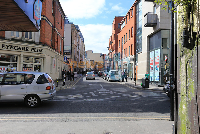 Past and Present Dyer street.Picture: Picture Fran Caffrey www.newsfile.ie.