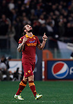 Calcio, Serie A: Roma vs Milan. Roma, stadio Olimpico, 22 dicembre 2012..AS Roma forward Pablo Daniel Osvaldo celebrates after scoring during the Italian Serie A football match between AS Roma and AC Milan at Rome's Olympic stadium, 22 December 2012..UPDATE IMAGES PRESS/Isabella Bonotto