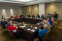 Orlando, FL - Saturday February 10, 2018: AGM, Participants, Disability Soccer Committee during U.S. Soccer's Annual General Meeting (AGM) at the Renaissance Orlando at SeaWorld.