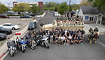 The Nevada Law Enforcement Officers Memorial Run arrives in Carson City, Nev. on Wednesday, May 4, 2016. A baton containing the 129 names of Nevada&rsquo;s fallen officers travels from Las Vegas to Carson City each year for the annual ceremony which will be Thursday at the Capitol at noon. <br /> Photo by Cathleen Allison/Nevada Photo Source