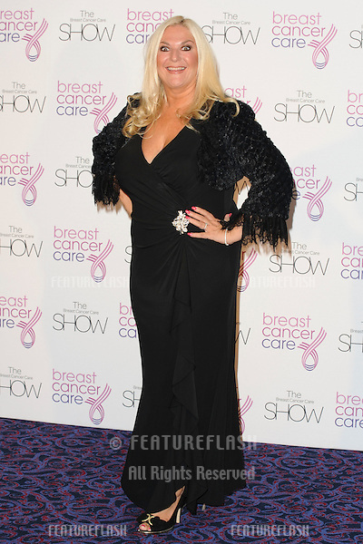 Vanessa Feltz arriving for the Breast Cancer Care 2010 Fashion Show at the Gorsvenor House Hotel, London. 06/10/10  Picture by: Alexandra Glen / Featureflash