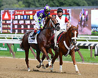 Scenes from around the track on August 04, 2018 during Whitney Stakes Day at Saratoga Race Course in Saratoga Springs, New York. (Bob Mayberger/Eclipse Sportswire)