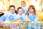 GUESS WHO?: Aisling O'Connor, Erica Lucid, Nicholas Roche and Leanna Roche enjoying the National Volunteer Day celebrations at Ballyheigue Community Centre on Friday.