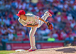 7 September 2014: Philadelphia Phillies pitcher Mike Adams on the mound against the Washington Nationals at Nationals Park in Washington, DC. The Phillies fell to the Nationals 3-2 in their final meeting of the season. Mandatory Credit: Ed Wolfstein Photo *** RAW (NEF) Image File Available ***