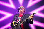 © Joel Goodman - 07973 332324. 05/08/2017 . Macclesfield , UK . Musician MARK KING of Level 42 performs at the Rewind Festival , celebrating 1980s music and culture , at Capesthorne Hall in Siddington . Photo credit : Joel Goodman