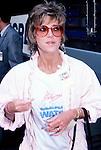 Jane Fonda in 1986 in Los Angeles, California.