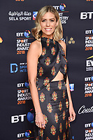 Nicki Sheilds arriving for the BT Sport Industry Awards 2018 at the Battersea Evolution, London, UK. <br /> 26 April  2018<br /> Picture: Steve Vas/Featureflash/SilverHub 0208 004 5359 sales@silverhubmedia.com