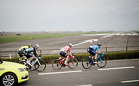 The breakaway group ready for take-off<br /> <br /> 43rd Driedaagse Brugge-De Panne 2019 <br /> One day race (1.UWT) from Brugge to De Panne BEL (200km)<br /> <br /> ©kramon