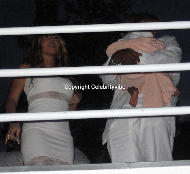 Mariah Carey & P. Diddy.P. Diddy Real White Party to commemorate Labor Day.P. Diddy Easthampton Estate.Easthampton, NY, USA.Sunday, September, 02, 2007.Photo By Celebrityvibe; .To license this image please call (212) 410 5354 ; or.Email: celebrityvibe@gmail.com;.