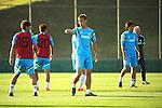Keisuke Honda (JPN), JUNE 4, 2014 - Football / Soccer : Japan's national soccer team Samurai Blue training session at Japan's team base camp in Itu Brazil. (Photo by Kenzaburo Matsuoka/AFLO)