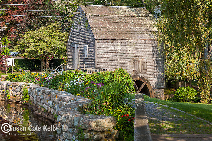 Dexters Grist Mill in Sandwich, Cape Cod, MA