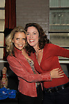 Guiding Light Jennifer Roszell poses with Sonia Satra (L) at Annual Daytime Stars & Strikes Charity Event to benefit The American Cancer Society on October 7, 2012 at Bowlmor Lanes Times Square, New York City, New York.  (Photo by Sue Coflin/Max Photos)