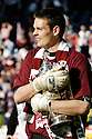 13/05/2006         Copyright Pic: James Stewart.File Name : sct_jspa35_hearts_v_gretna.HEARTS KEEPER CRAIG GORDON WITH THE CUP...Payments to :.James Stewart Photo Agency 19 Carronlea Drive, Falkirk. FK2 8DN      Vat Reg No. 607 6932 25.Office     : +44 (0)1324 570906     .Mobile   : +44 (0)7721 416997.Fax         : +44 (0)1324 570906.E-mail  :  jim@jspa.co.uk.If you require further information then contact Jim Stewart on any of the numbers above.........
