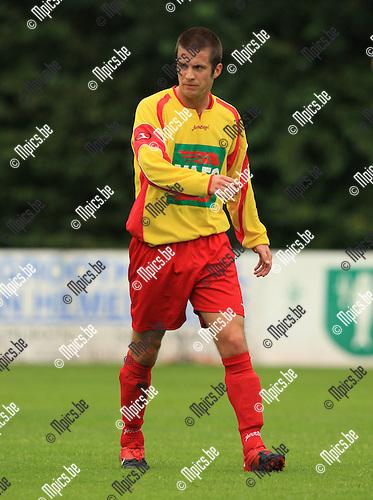 2010-08-07 / Voetbal / seizoen 2010-2011 / KSV Bornem / Tom Peeters..Foto: mpics