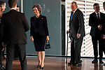 Queen Sofia and King Juan Carlos attends to the act of imposition of the great cross of the civil order of Alfonso X el Sabio to D. Francisco Luzon Lopez at Reina Sofia Museum in Madrid. March 13, 2017. (ALTERPHOTOS/Borja B.Hojas)