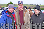 Neilly Lyons(Dromtrasna), Tom Hannon(Duagh) and Sean Daveron(Ballylanders) enjoying the annual coursing meeting held last week in Abbeyfeale.