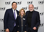 Patrick Morrow, Barbara Olcott and Peter Ratray during An Evening Of Legacy, Philanthropy & Music For The Benefit Of The Dramatists Guild Foundation at Morgan Stanley Headquarters on May 13, 2019 in New York City.