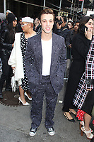 NEW YORK, NY - FEBRUARY 12: Cameron Dallas at Michael Kors Fashion Show during tNew York Fashion Week 2020 in New York City on February 12, 2020. <br /> CAP/MPI/EN<br /> ©EN/MPI/Capital Pictures