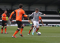 Graham Carey in the St Mirren v Dundee United Clydesdale Bank Scottish Premier League match played at St Mirren Park, Paisley on 27.10.12.