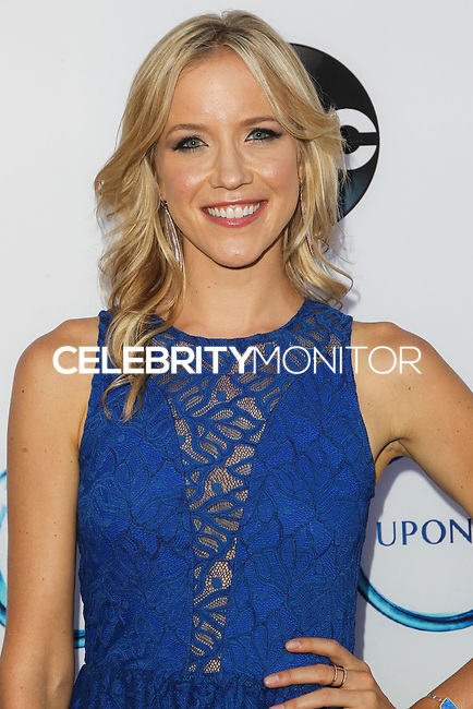 HOLLYWOOD, LOS ANGELES, CA, USA - SEPTEMBER 21: Jessy Schram arrives at the Los Angeles Screening Of ABC's 'Once Upon A Time' Season 4 held at the El Capitan Theatre on September 21, 2014 in Hollywood, Los Angeles, California, United States. (Photo by Celebrity Monitor)