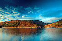 Loch Lomond and The Luss Hills at dawn from Rowardennan, Loch Lomond and the Trossachs National Park, Stirlingshire