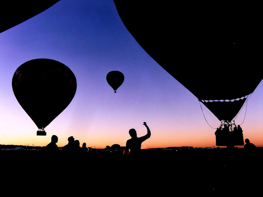 hot air balloons festival, albuquerque