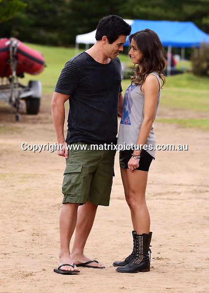 23 AUGUST 2016 SYDNEY AUSTRALIA<br /> WWW.MATRIXPICTURES.COM.AU<br /> <br /> Non EXCLUSIVE PICTURES<br /> Home &amp; Away filming at Palm Beach with  James Stewart, Isabella Giovinazzo and Olivia Deebles .<br /> <br /> *No internet without clearance*.<br /> <br /> MUST CALL PRIOR TO USE <br /> <br /> +61 2 9211-1088. <br /> <br /> Matrix Media Group.Note: All editorial images subject to the following: For editorial use only. Additional clearance required for commercial, wireless, internet or promotional use.Images may not be altered or modified. Matrix Media Group makes no representations or warranties regarding names, trademarks or logos appearing in the images.