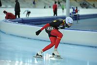 SPEEDSKATING: SOCHI: Adler Arena, 19-03-2013, Training, Bart Swings (BEL), © Martin de Jong